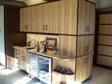 zebra wood kitchen cabinets zebrawood bar cabinets by les hastings lumberjocks woodworking community