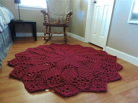 Giant Doily Rug Round Christmas Rug Promotion Online Shopping For