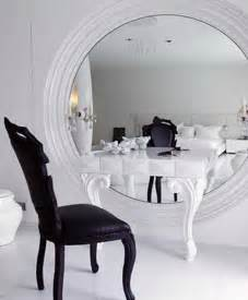 modern table white viewing gallery