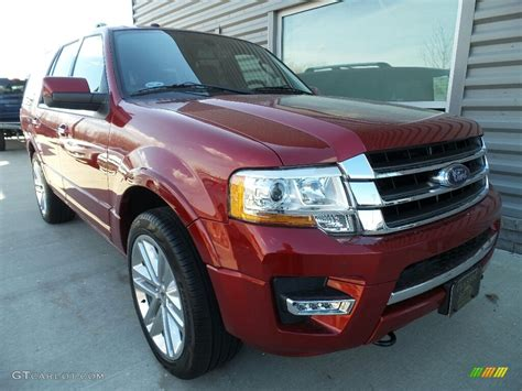 ford expedition red 2017 ruby red ford expedition limited 4x4 118900267 photo
