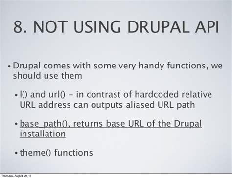 theme drupal function top 20 drupal mistakes newbies make