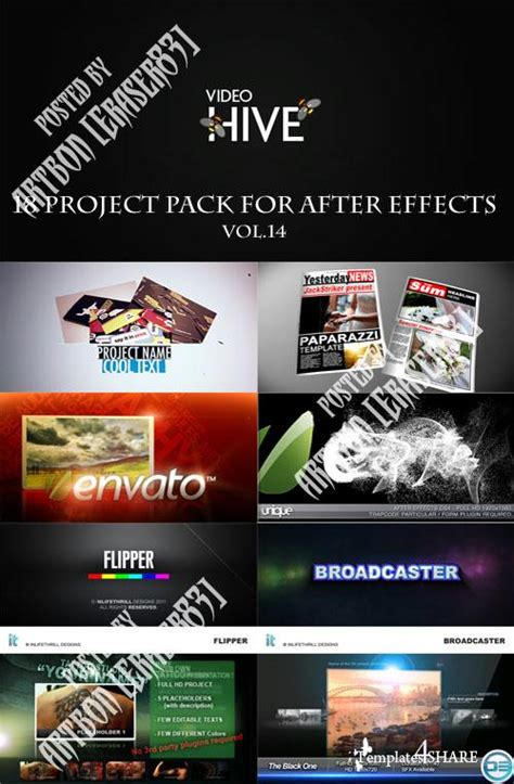 adobe after effects templates torrent 18 project pack for after effects vol 14 videohive
