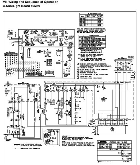 lennox furnace thermostat wiring diagram elvenlabs