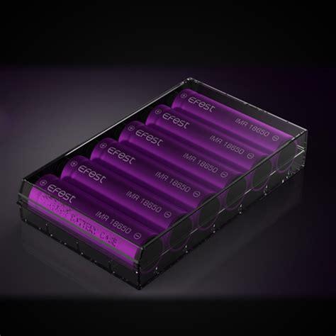Efest Transparent Battery For 6pc 18650 Casing Baterai Transpar efest transparent battery for 6x18650 black jakartanotebook