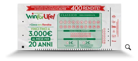 Win It With Lifestyle by Come Si Gioca A Vinci Per La Vita Win For Classico