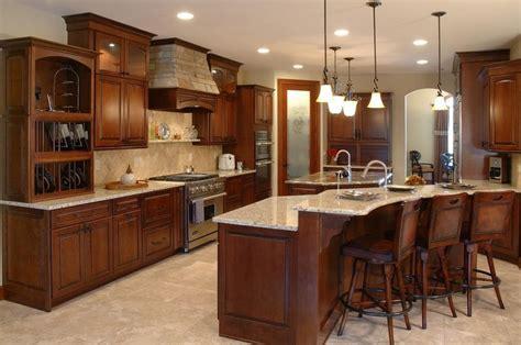 Kitchen Cabinets Cleveland Pretty Santa Cecilia Granite Trend Cleveland Traditional