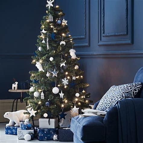 1996 blue room christmas tree decoraci 243 n navide 241 a en azul ideas para navidad