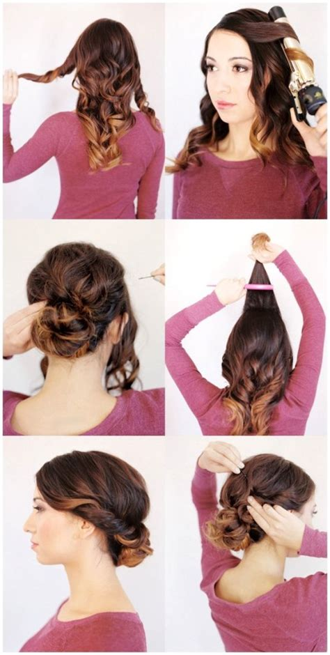 Diy Wedding Hairstyles For Medium Length Hair easy diy updos for medium length hair hairstylegalleries