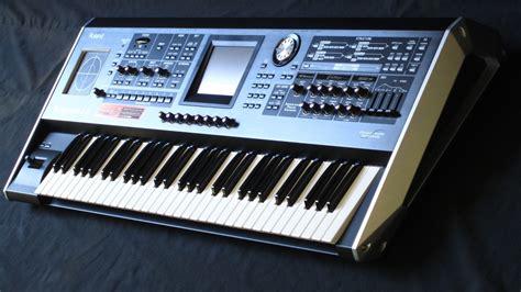 Keyboard Roland Synthesizer matrixsynth roland v synth gt elastic synthesizer keyboard version 2 0