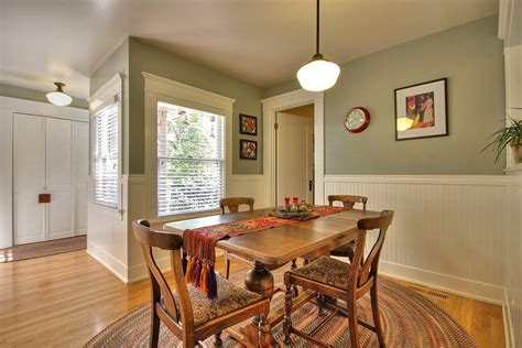 beadboard dining room beadboard molding ideas dining room craftsman with