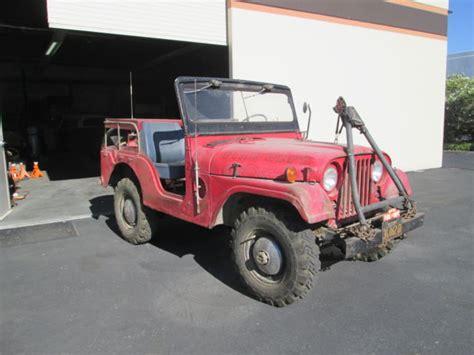 korean jeep 1952 willys m38a1 korean war era jeep reborn as a