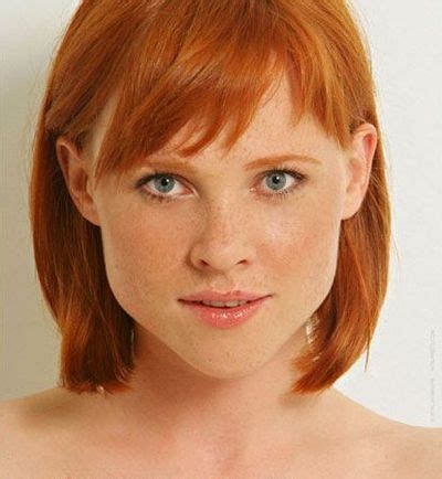 haircut photos freckles bob hairstyle red head ho my pinterest