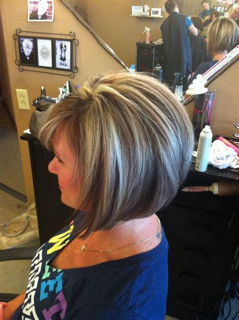 hidden stack shape haircut stacked bob hair pinterest bobs to miss and the shape