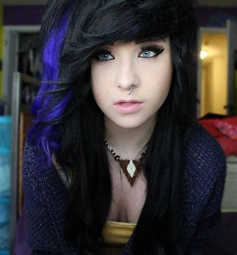 pictures of streaked black hairstyles blonde hair with black streaks hairstyle for women man