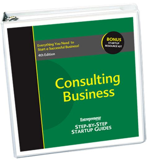 Start Your Own Consulting Business start your own consulting business 4th edition