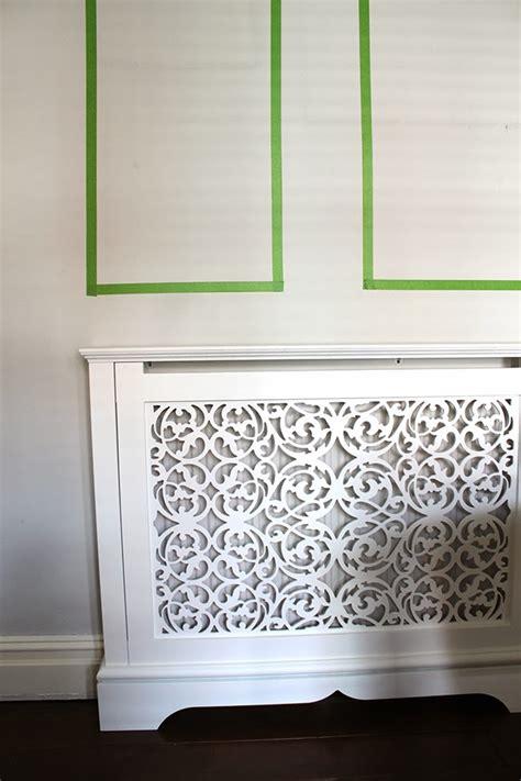 living room wall progress my new jali radiator cover