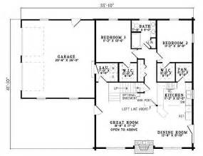 3 Bedroom 2 Bath House Plans Plan 110 00934 3 Bedroom 2 Bath Log Home Plan