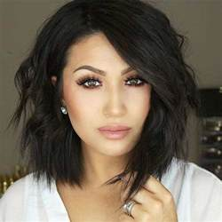 hairstyles to suit no neck 15 stylish shoulder length hairstyles and haircuts for women