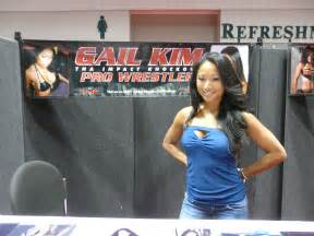 Former wwe a gail kim who was with wwe from 2002 2004 2008
