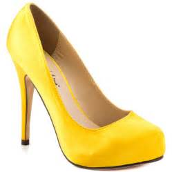 Yellow Shoes Me Yellow Satin Michael Antonio 49 99 Free Shipping