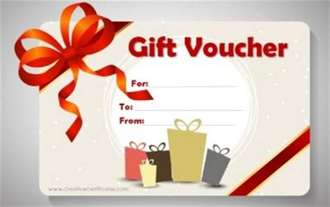 printable vouchers for christmas gift voucher template