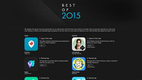 12 Of The Best Apps - apple announces the best apps of 2015 for iphone