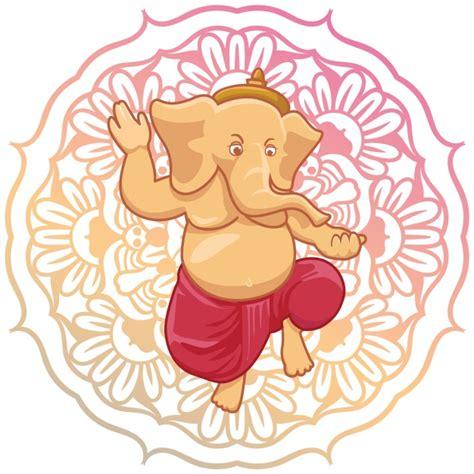 design background ganpati ganesha background design vector free download