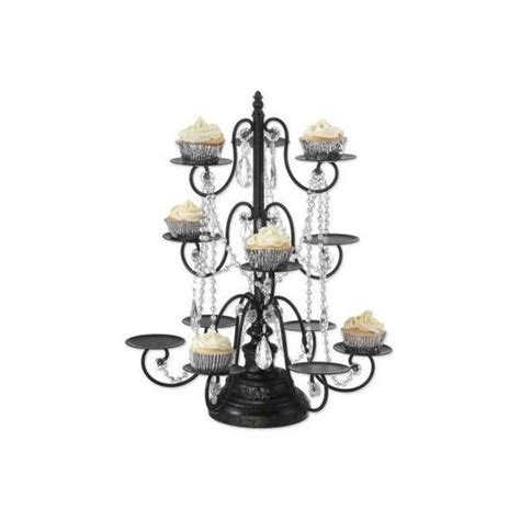 Cupcake Chandelier Stand Chandelier Cupcake Holder Madeleine Collection 12 Cupcake Stand Dessert Display Tower