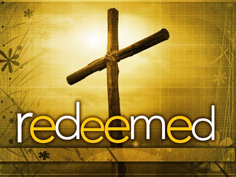 House Of Redeemed by Gospel Driven Disciples R Is For Redeemed