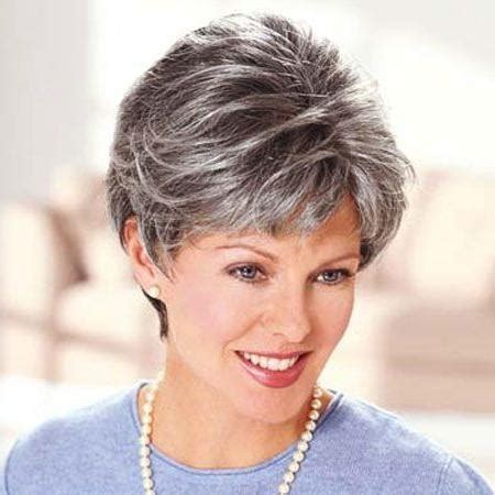 salt and pepper short hairstyles for women over 50 short salt and pepper grey haircuts 20 best ideas of short