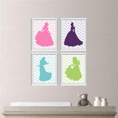 Disney Princess Nursery Decor Baby Nursery Print Chevron Princess Nursery Decor Wall Princess Nursery