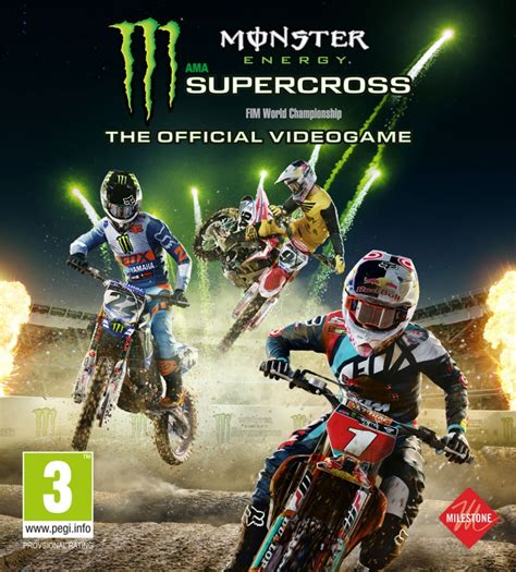 video monster jeu vid 233 o monster energy supercross
