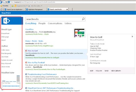 Sharepoint 2013 Search Sharepoint 2013 Search Updating The Refinement Panel Sharepoint Brew