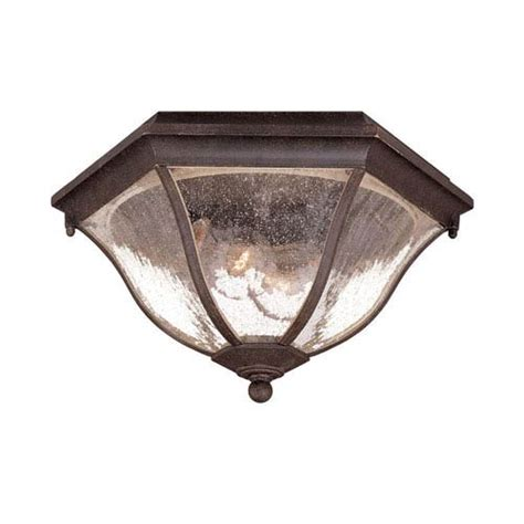 black coral two light 7 75 inch outdoor ceiling flush