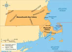 map of the colony massachusetts bay colony american history britannica