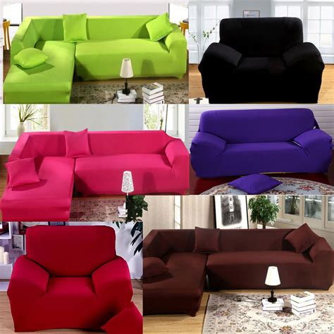 Cover For L Shaped by For L Shape Sofa Stretch Sofa Slipcover With Pillow