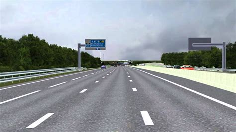 the motorpany the planned smart motorway on the m1 in south