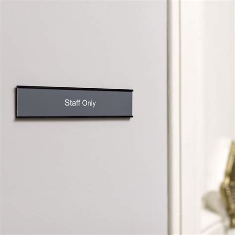 engraved door signs for your office vistaprint