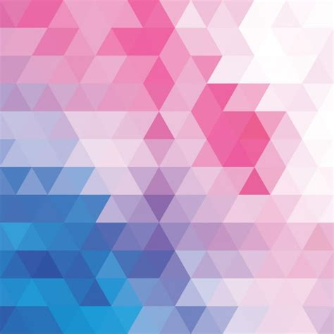 Pink Colour by Polygonal Background In Soft Colours Vector Free Download