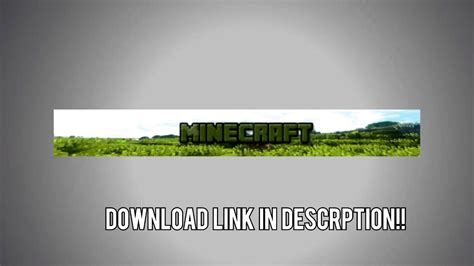 free minecraft server banner gif download