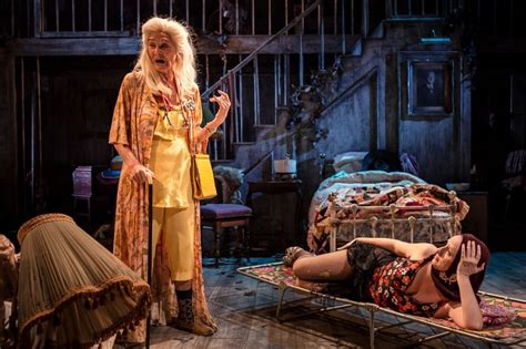 Grey Gardens The Musical by Review Hancock Is Disgusting Demanding And Oddly