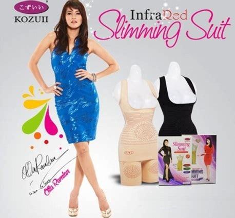 Baju Pelangsing Kozui Slimming Suit baju pelangsing pembentuk tubuh korset infra merah slimming suit infrared kozui