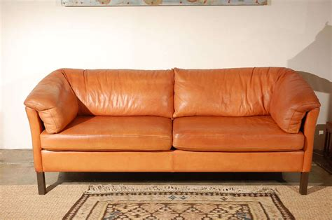 vintage style leather couch vintage leather sofa in the style of b b italia at 1stdibs