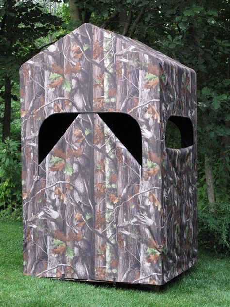 Lightweight Deer Blinds comfortquest blind with lightweight aluminum frame and camouflage fabric cover