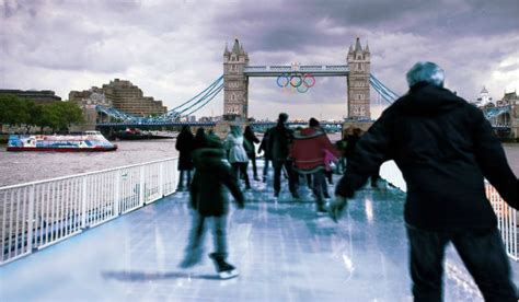 Skate London Thames | join the thames frost fair christmas party good things