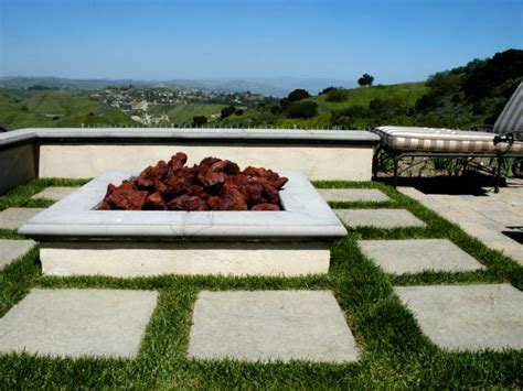 square firepits square and rectangular pits hgtv
