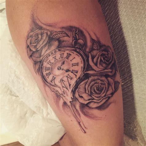 melting rose tattoo pocket melting with roses tattoos