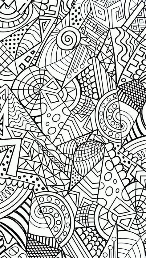doodle patterns for colouring anti stress malen pinterest coloring mandalas and