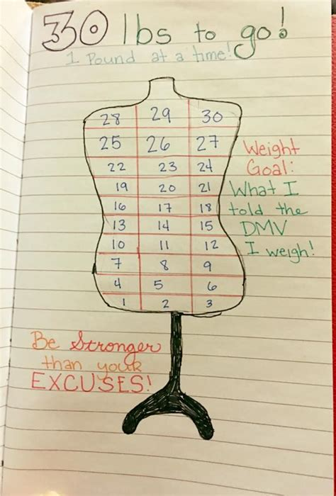 weight loss journal clever weight loss chart for bullet journal bullet