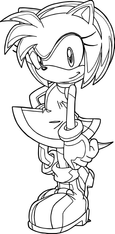 cute coloring pages of roses perfect cute amy rose coloring page wecoloringpage